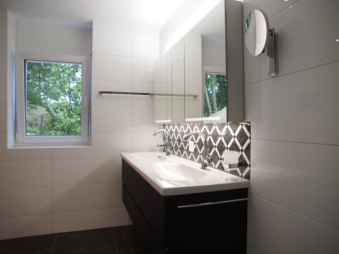 Belle salle de bain - Vessaz Carrelages & parquets