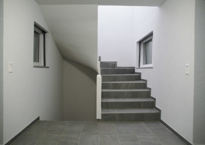 Escalier en carrelage Salavaux