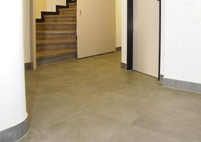 Carrelage couloir entrée Avenches