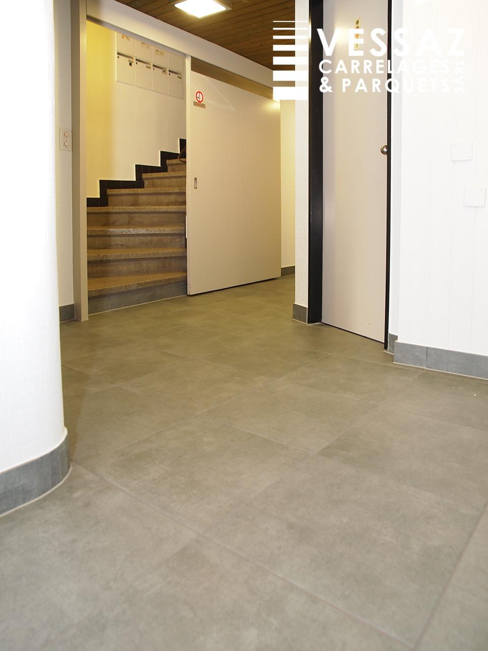 Carrelage Couloir Entree Avenches Vessaz Carrelages Parquets